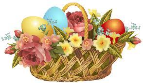vintage easter basket transparent png clip art image gallery
