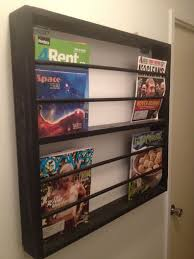 wooden magazine rack from ikea parts 3 steps
