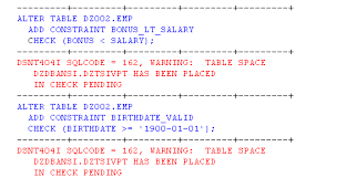 db2 alter table add column db2 version 4 1 table check constraints