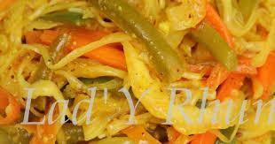 recette de cuisine r nionnaise recettes de cuisine réunionnaise par rhum les achards de