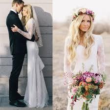 long sleeve simple wedding dresses 13 with long sleeve simple