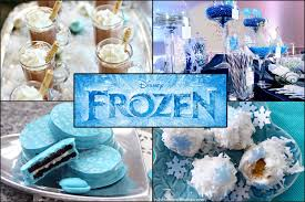 throw disney frozen themed party brownie bites blog