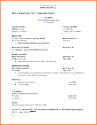 exle resume for 7 exle of a c v bussines 2017