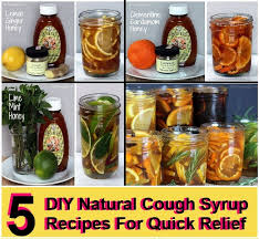 5 Natural Diy Recipes For by 5 Diy Natural Cough Syrup Recipes For Quick Relief Diy Home Things