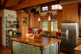 Popular Kitchen Colors With Oak Cabinets by 46 Fabulous Country Kitchen Designs U0026 Ideas