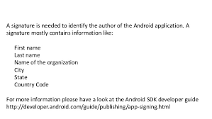 sign apk how to re sign a android apk file for app testing
