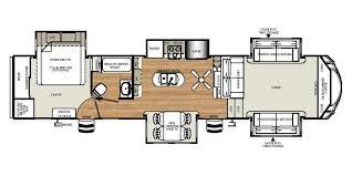 Fifth Wheel Floor Plans Front Living Room 2016 Sierra 377flik Fifth Wheel 219 Bruce Griffons Trailer Town