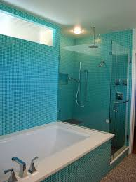 turquoise tile bathroom modern bathroom with turquoise square tiles the cavender diary