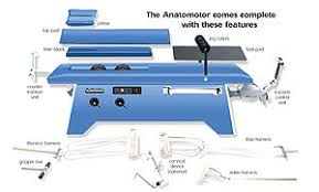 Roller Massage Table by Anatomotor Roller Massage Table Free Shipping