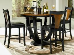 glass counter height table sets boyer two tone counter height dining table set bar room stool