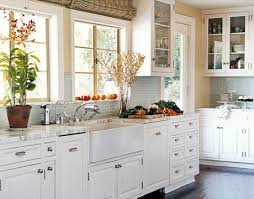 pictures of kitchen with white cabinets the best countertop for white kitchen cabinets interior taste