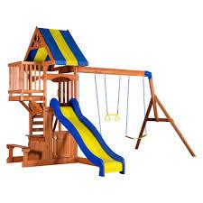 peninsula wooden swing set wooden swings swings and nest