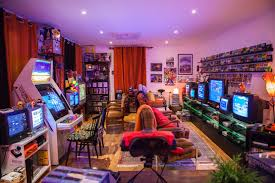 Game Room Interior Design - stopxwhispering u0027s game room collection retro video gaming