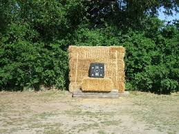 backyard archery set haybales for archery targets must have this in the backyard