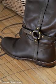 womens boots elder beerman how to add an elastic gusset to boots sew a seam