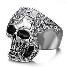 black metal rings images Black metal ring jpg