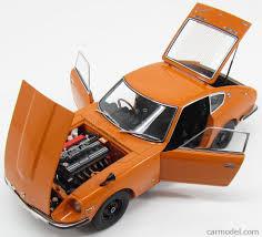 nissan fairlady 1969 autoart 77436 scale 1 18 nissan fairlady coupe z432 1969 orange