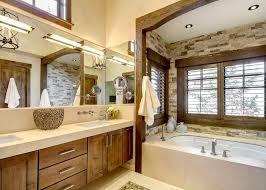 Rustic Modern Bathroom Captivating Rustic Modern Vanity Lighting Rustic Vanity Lights