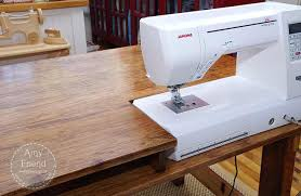 portable sewing machine table portable sewing machine table my husband made me this beautiful