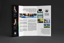 2 fold brochure template real estate agency trifold brochure template for photoshop