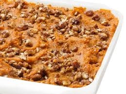 sweet potato pecan casserole recipe ellie krieger food network