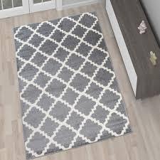 designer teppich designer teppich wohnzimmer teppich kurzflor grau modern