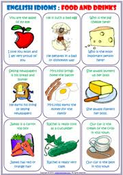 idioms esl printable worksheets and exercises