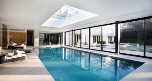 Indoor Pools Decorating Ideas Charming Indoor Swimming Pools With Tub And