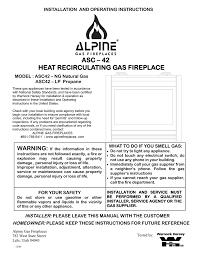 alpine asc42 operating instructions