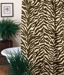 White Tiger Shower Curtain White Tiger Skin Print Comforter Set Brown