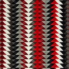 Geometric Fabrics Upholstery Red Grey Upholstery Fabric Geometric Black White Velvet