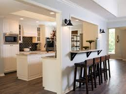 kitchen half open kitchen design open kitchen family room ideas