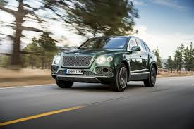 bentley suv 2017 ungainly bentayga u0027cayennes u0027 bentley in its first month on the