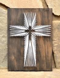 rustic wooden crosses rustic wooden crosses wall decor cross string christian wall