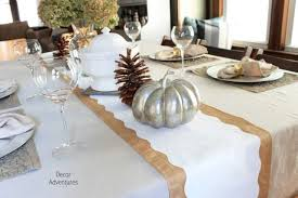 holiday table runner shape tape ideas decor adventures
