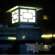 solar pillar lights outdoor fence gate design ideas with solar lights google search