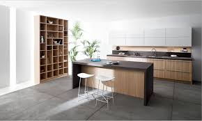 modern kitchen 2014 one wall with island light granite