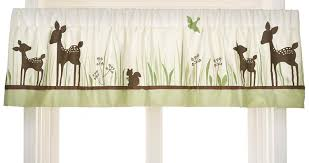 Deer Nursery Bedding Amazon Com Kids Line Willow Organic Valance Discontinued By