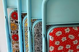 Metal Folding Chair Covers Upcycle Old Folding Chairs U2014 Upcycle Magazine