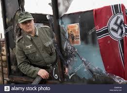 German British Flag Pickering Yorkshire Uk 11th Oct 2014 Swastika Flag At