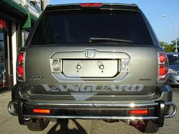 2006 honda pilot rear bumper 03 08 honda pilot rear bumper protector grill guard s s