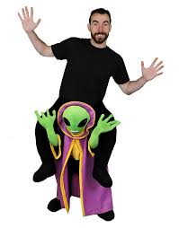 halloween morph costumes amazon com pick me up alien fancy dress ufo costume perfect for