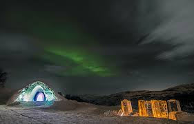 norway northern lights hotel kirkenes snow hotel and the northern lights short break