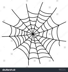 scary halloween white background black cobweb element isolated on white stock vector 500569825