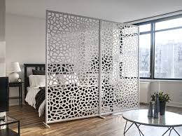 how to divide a room without a wall razortooth design llc architectural screens lobby feature walls