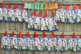kara u0027s party ideas doggie bags paw patrol birthday party