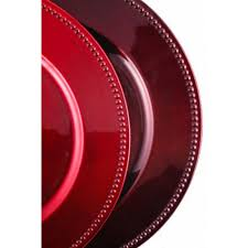 discount wedding supplies burgundy charger plates bulk 24 plates 402076 f119 109 burgundy