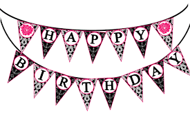 Happy Birthday Halloween Banner by Word Banner Clipart Clipartsgram Com