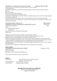 resume template administrative w experience project 2020 uc writing student reports for sale wexford stone crafts ltd