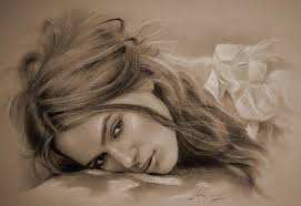 beautiful celebrity pencil sketches 8 illustrations